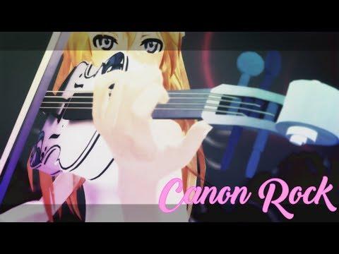 Your Lie In April 四月は君の嘘 【 MMD x Canon Rock 60fps 1080p】 [Kaori Miyazono]