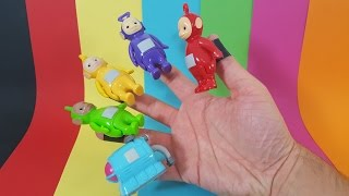 The Finger Family Song - FIVE FINGER NURSERY RHYMES - Teletubbies
