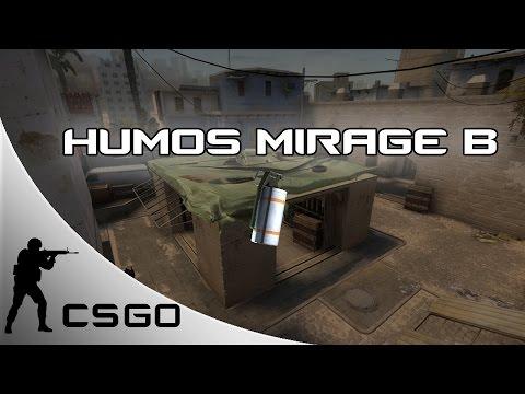 Humos Mirage B + Rush apartamento | CS:GO | Muit0