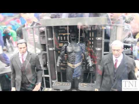 Hot Toys Batman Returns, Batman Arkham City & The Dark Knight Rises SDCC 2014 Display