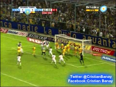 Rosario Central 2 Crucero del Norte 1 (Relato Walter Hugo)  Torneo Nacional B 2012-13 (26/4/2013)