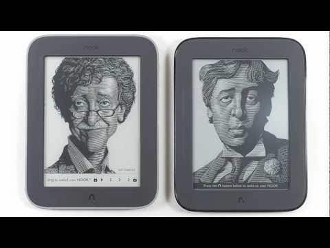 Cracking Open: Nook Simple Touch with GlowLight