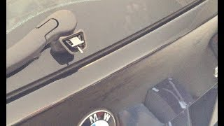 Quick easy Repair car Glass catch. Latch self opening Micro switch Window BMW E61 5 series e91 3