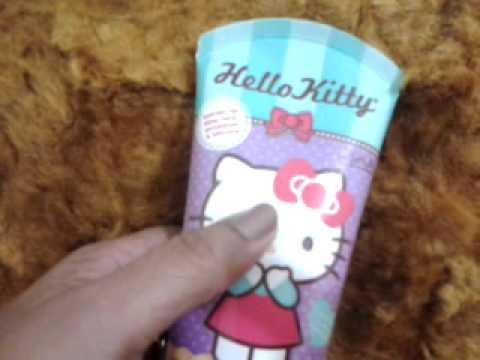 Creme de Pentear Hello Kitty Cabelo Cacheado