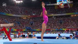 Nastia Liukin Wins Gold In Women's All-Around