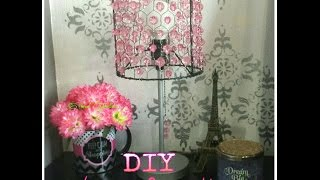 DIY Lámpara Decorativa / Decorative Lamp