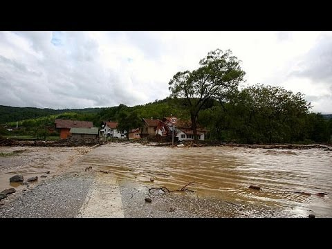 Call for help from the Balkans as landslides add to flood misery
