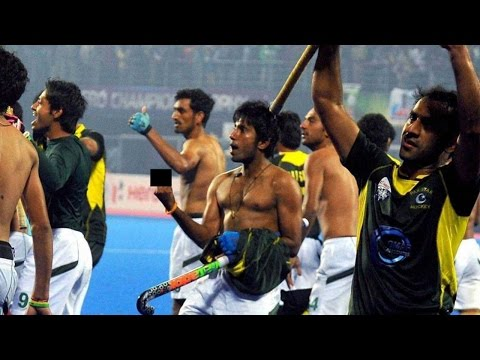 Pak beats India in Hockey Champions Trophy, taunts and insults audience