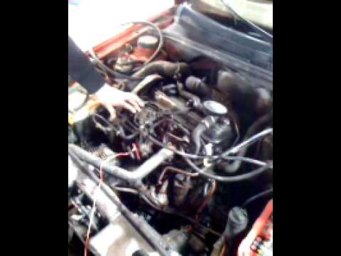VW Golf Mk3 AAZ 1.9 TD Engine 1/4