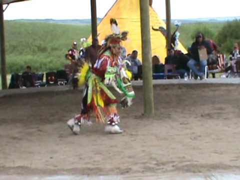 Chicken Dance Championship Blackfoot Crossing 2010 video
