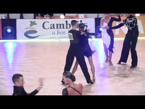 2014 Euro Ten Dance | Semi-final, Cha Cha, Heat 2 | Dancesport Total video