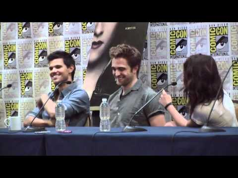 Comic Con 2012 - 'twilight Saga: Breaking Dawn Pt 2' Panel Part 1 Of 3 video