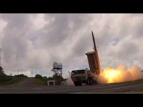 Footage of Missile Launch by the Missile Defense Agency