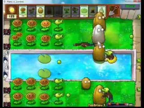 เกมส์ซอมบี้ปะทะพืช by Game.tonruk.com