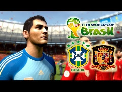 FIFA 2014 World Cup Final España vs Brasil