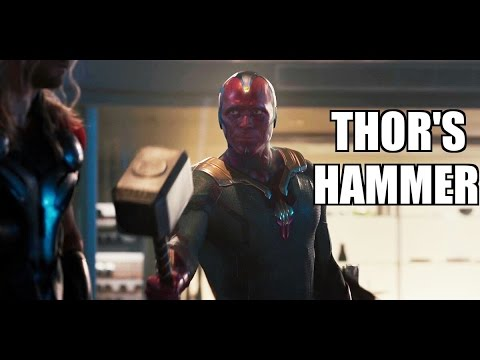 10 Characters who've lifted Thor's Hammer en streaming