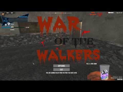 Modded 7 Days To Die War Of Walkers Stream Day