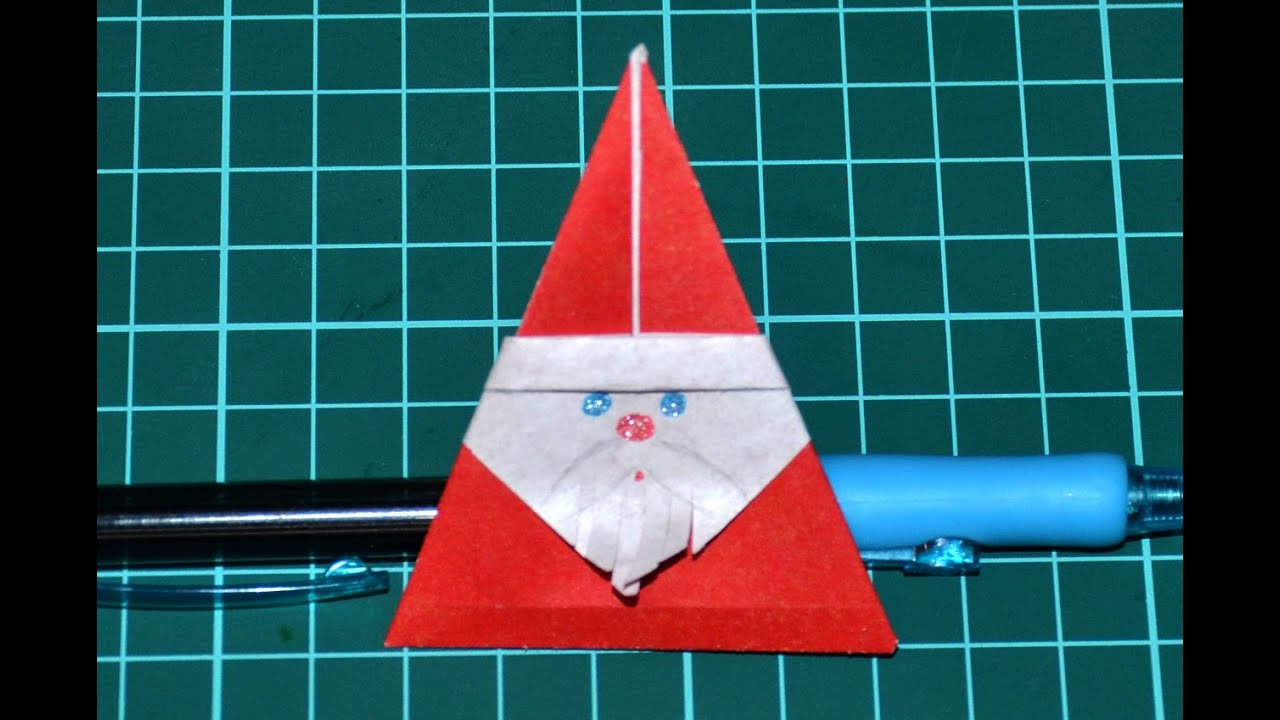 Как сделать дедушку из оригами