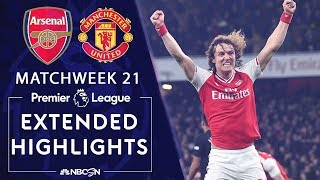 Arsenal v. Manchester United | PREMIER LEAGUE HIGHLIGHTS | 1/1/20 | NBC Sports