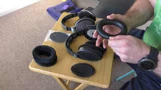 AHG HD600/650 Headphone Ear Pad Installation