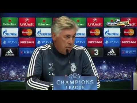 No cambio esta plantilla por ninguna: Ancelotti