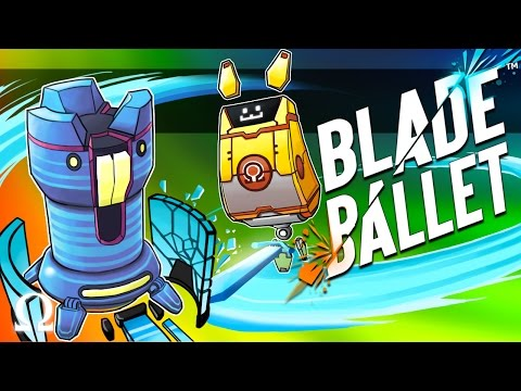 ROBOTS + PARTY GAME = CHAOS! | Blade Ballet Ft. Delirious, Cartoonz, Bryce