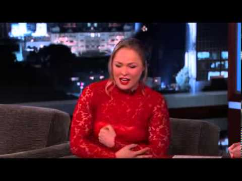 Ronda Rousey Funny Interview