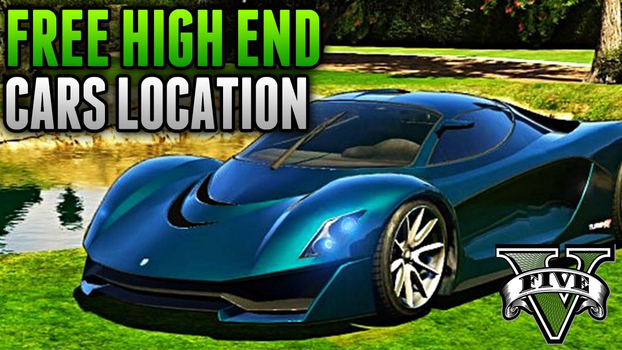 High End Car Shelters : Gta rare cars fully customized high end car location