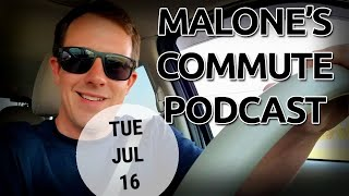 Let's see them aliens. Area 51 023 Malone's Commute Podcast