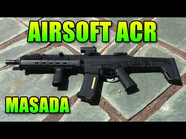 Magpul PTS Masada - One Sexy Gun | Airsoft Gameplay (ACR ACW-R)