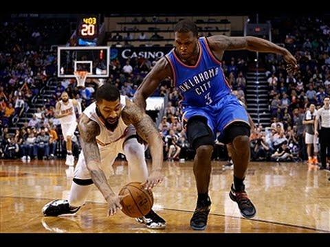 Oklahoma City Thunder vs Phoenix Suns - February 8, 2016