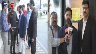 Telugu Associations Leaders Welcome CM Ramesh in America