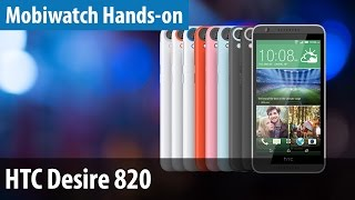 HTC Desire 820 - Günstiges Top-Smartphone im Mobiwatch-Hands-on | deutsch / german
