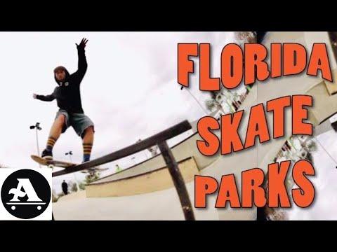 ANTHONY SHETLER FLORIDA SKATEPARKS!!