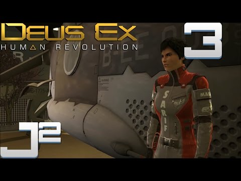 Let's Play Deus Ex Human Revolution - 3 [New Body. Same Building]