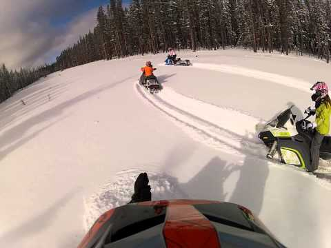 Kids Skidoo 300 Freestyle Powder ride