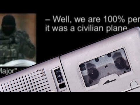 Chilling Audio Of Separatists Discussing Downed Malaysian Airliner