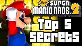 New Super Mario Bros 2 TOP 5 SECRETS (3DS)