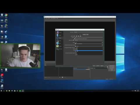 OBS Studio BEST Streaming & Recording Settings 2016 [Tutorial]