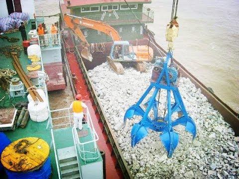 挖3億立方米淤泥 炸掉100萬噸礁石 中國要在長江幹什麽?