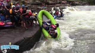 2018 GAULEY RIVER WHITEWATER RAFTING FLIPS & CARNAGE