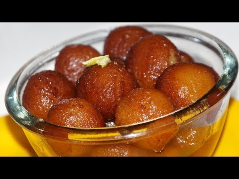 Gulab Jamun recipe with kova- khoya by karthikas kitchen - गुलाब जामुन