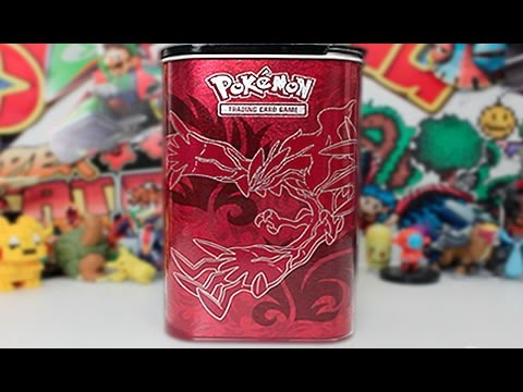 Opening A Xerneas and Yveltal Elite Trainer Deck Shield Tin!!