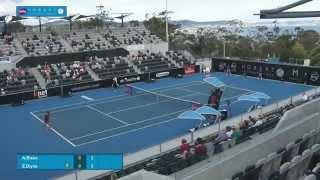 Alison Riske v Zarina Diyas: Full-match replay (QF) - Hobart International 2015