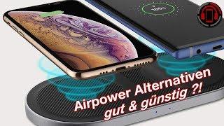 Günstige Airpower Alternative - Spigen Wireless Charger F310W Review [Deutsch/German]
