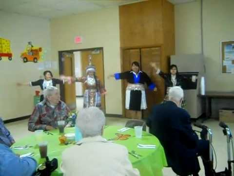 Performance for Senior Citizen Lunch In at Purdy High School