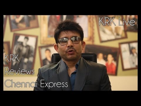 Chennai Express Review by KRK   KRK Live   Bollywood
