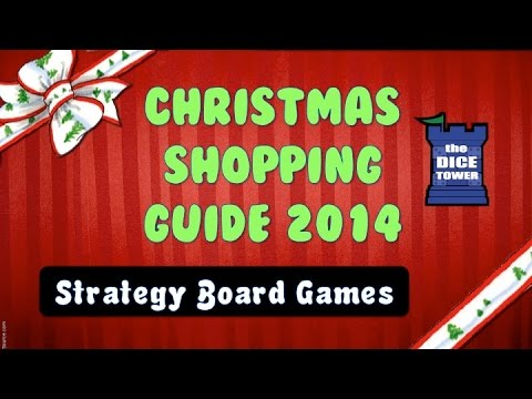 12 Games of Christmas - Strategy Board Games