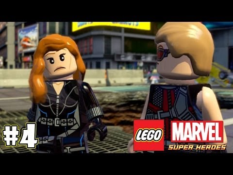 LEGO Marvel Super Heroes Part 4 - Black Widow & Hawkeye (You Never Look Normal)