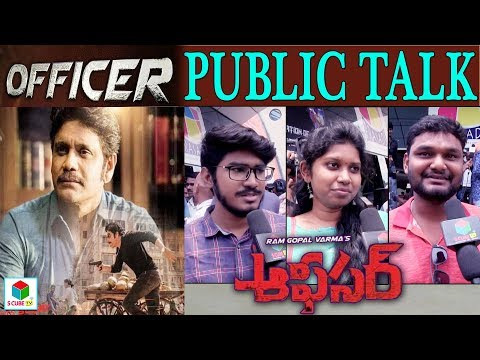 Officer Public Talk || Nagarjuna | Myra Sareen | RGV Latest Telugu Movie #Officer Review & Response